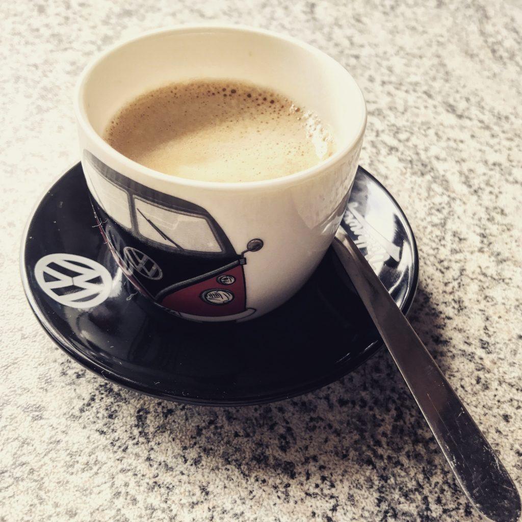 Doppelt lecker! Luftgekühlter Espresso...
